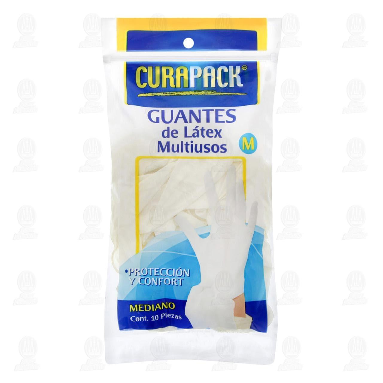 Guante Curapack Multiusos Mediano 10 pzas.