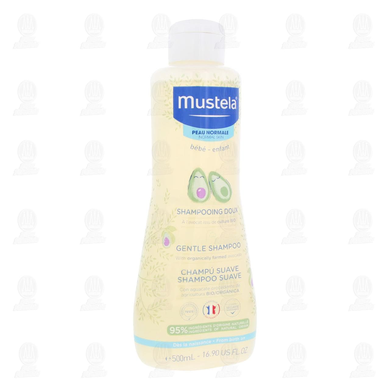 Mustela 500ml Shampoo Piel Normal
