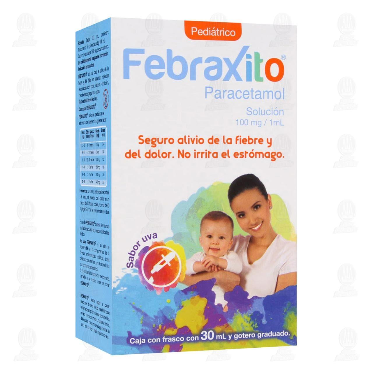 Comprar Febraxito Pediátrico 100mg/1ml 30ml Solución en Farmacias Guadalajara