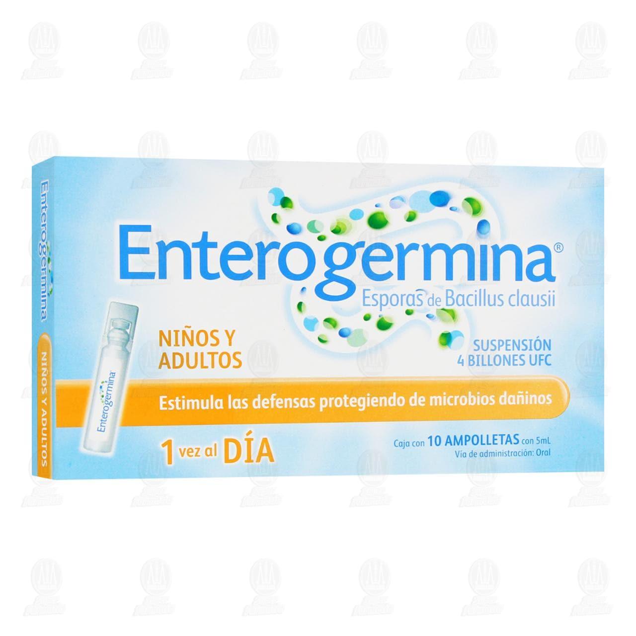 Comprar Enterogermina 10 Ampolletas 5ml en Farmacias Guadalajara