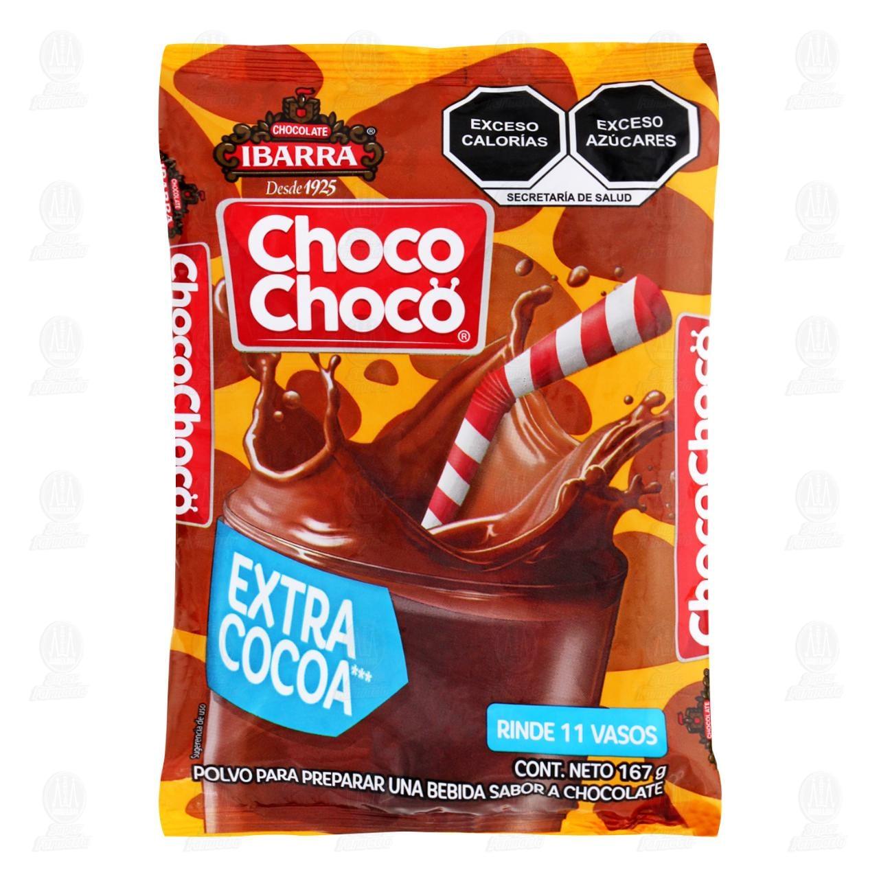 Chocolate Choco Choco en polvo, 167 gr.