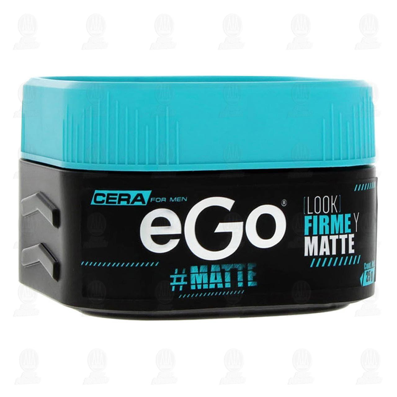Comprar Cera para Cabello Ego Efecto Matte, 25 gr. en Farmacias Guadalajara
