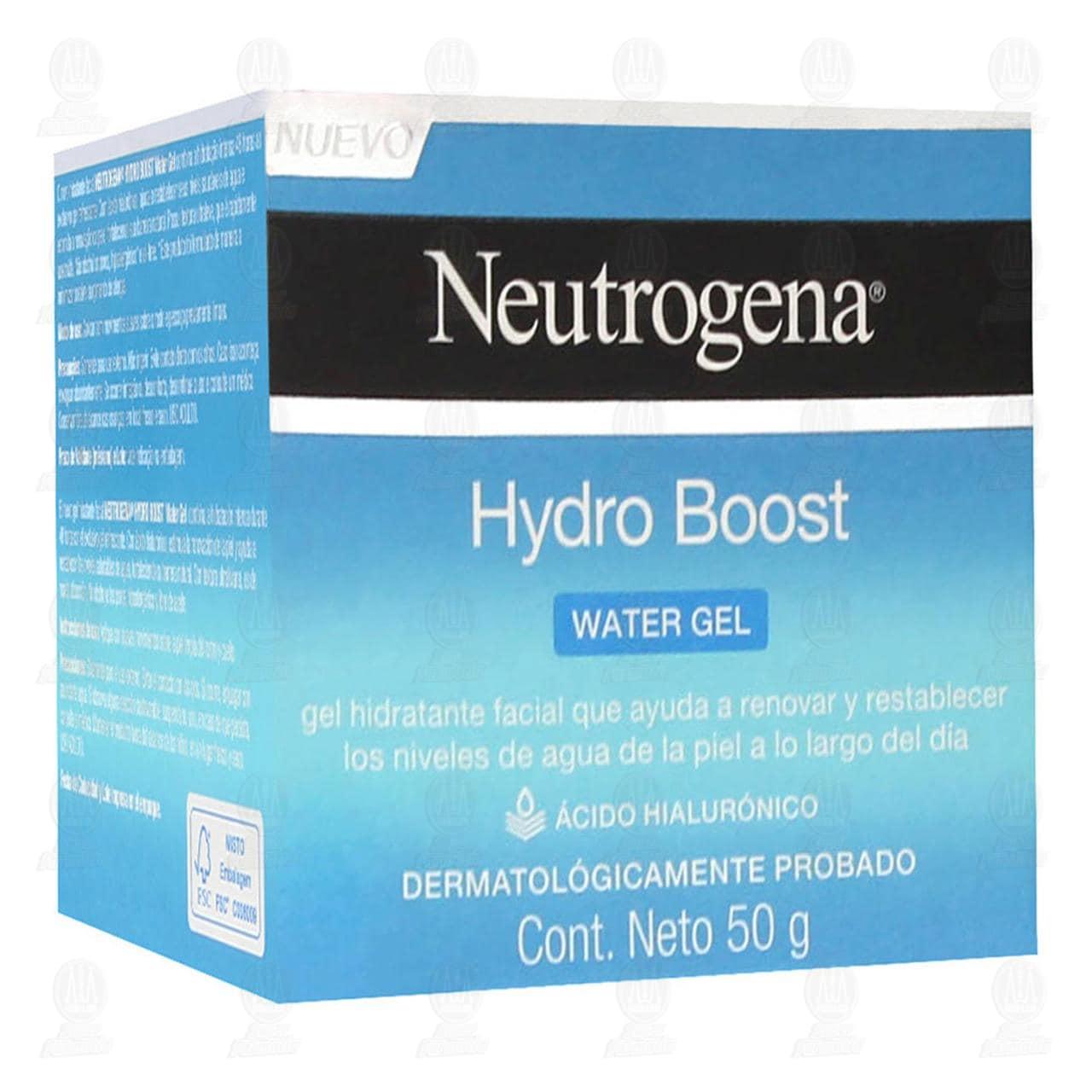 Comprar Hidratante Facial Neutrogena Hydro Boost Water Gel, 50 gr. en Farmacias Guadalajara