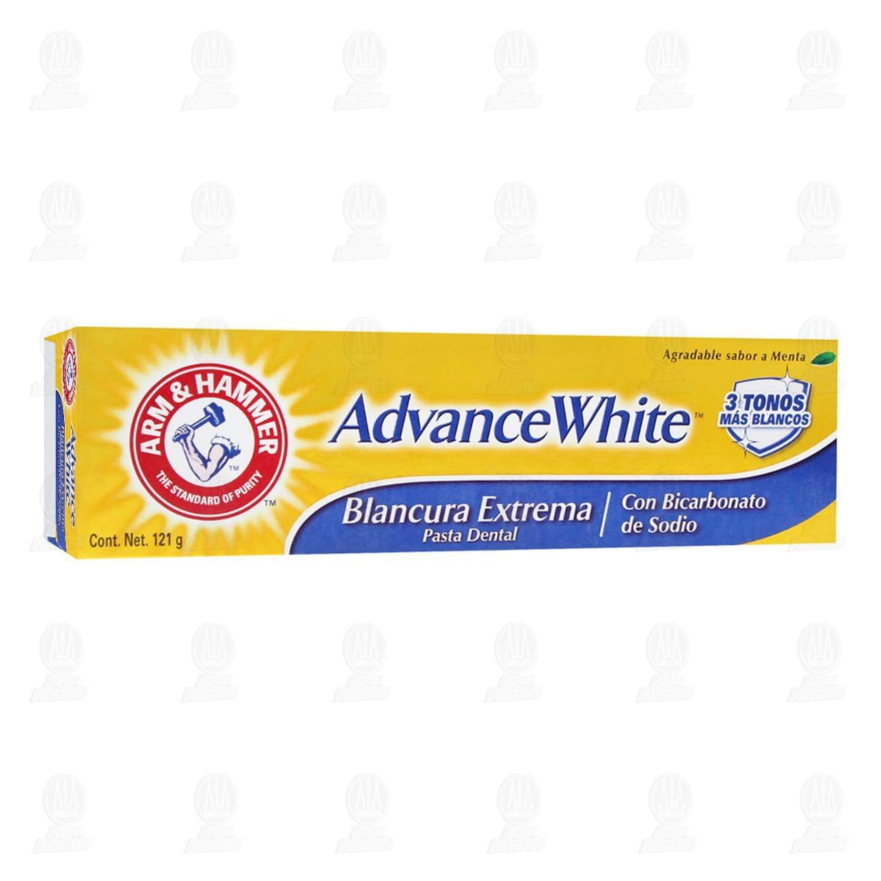 Comprar Arm & Hammer Advance White Pasta Dental Blancura Extrema, 121 gr. en Farmacias Guadalajara