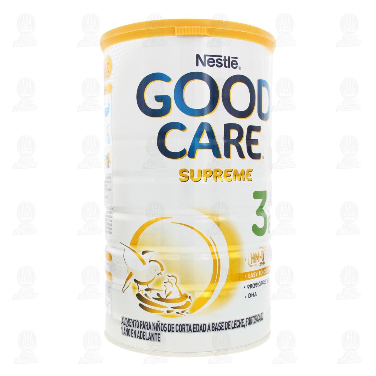 Comprar Fórmula Infantil Nestlé Good Care Optipro Supreme 3 en Polvo (A Partir del 1er Año), 1.2 kg. en Farmacias Guadalajara