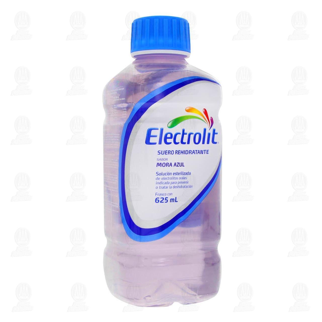 Comprar Electrolit Sabor Mora Azul Oral 625ml en Farmacias Guadalajara