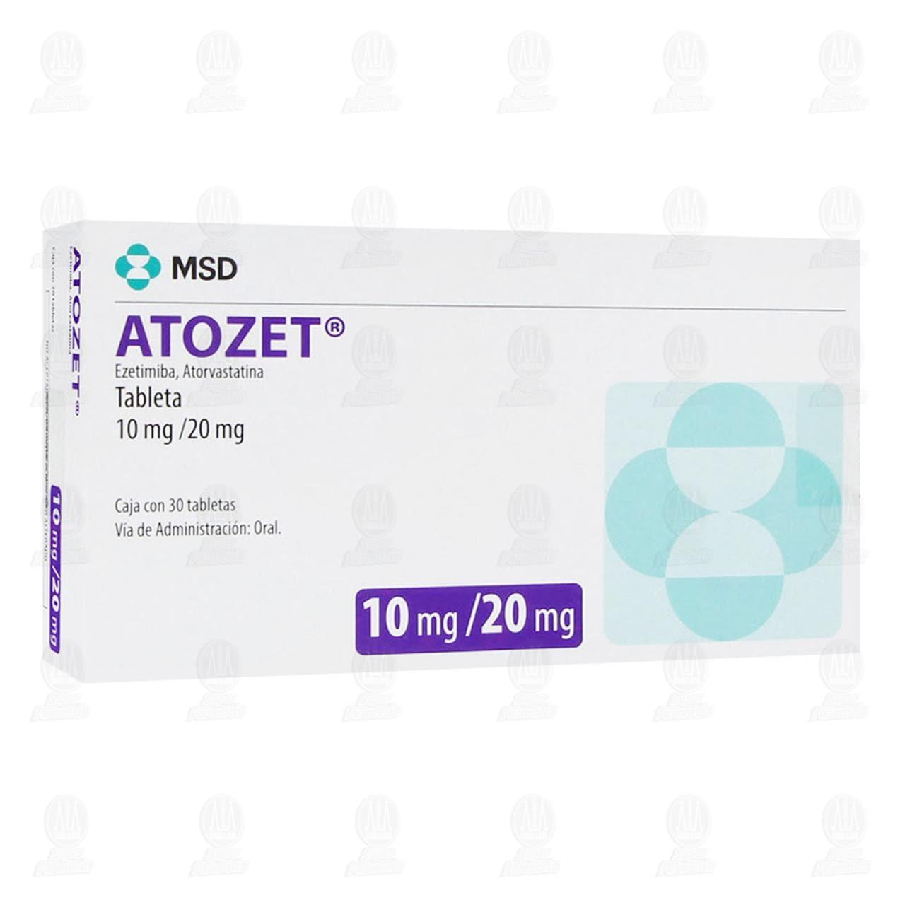 Atozet 10mg/20mg 30 Tabletas