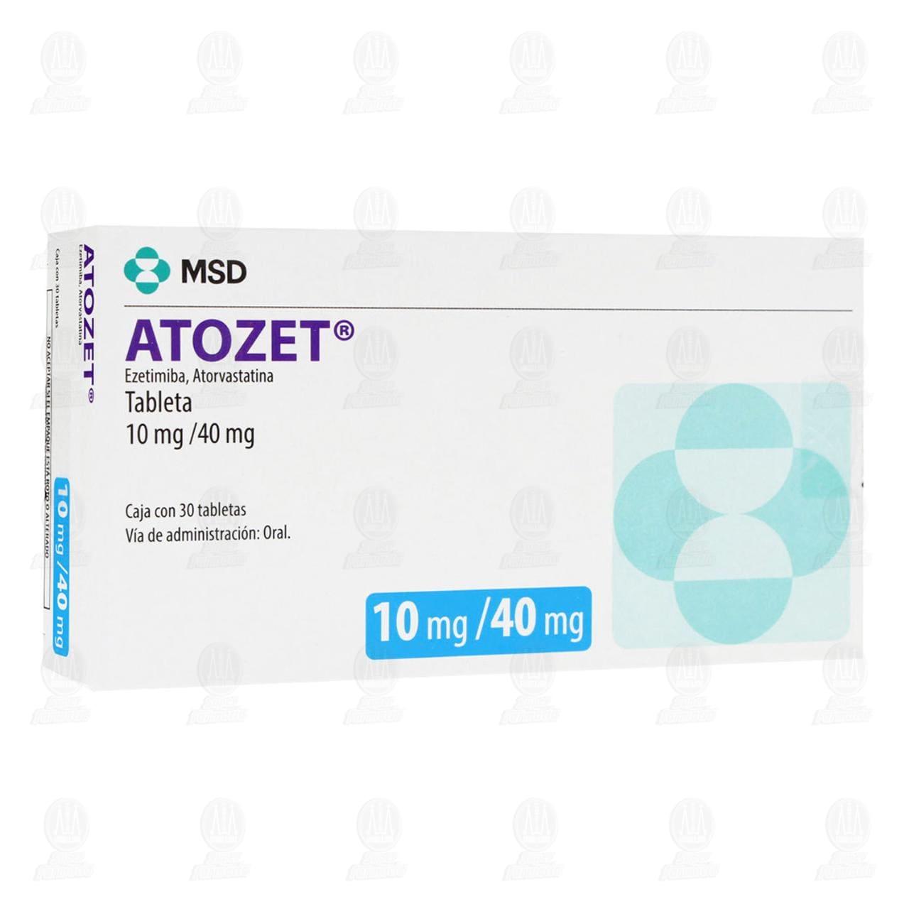 Atozet 10mg/40mg 30 Tabletas