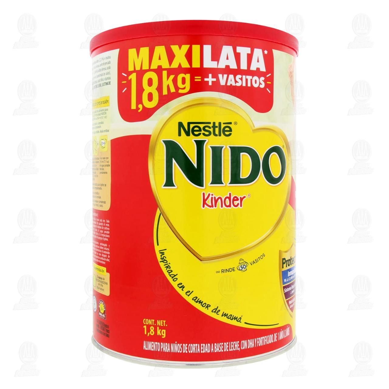 Comprar Alimento para Niños Nido Kinder (A Partir de 1 Año), 1.8 kg. en Farmacias Guadalajara