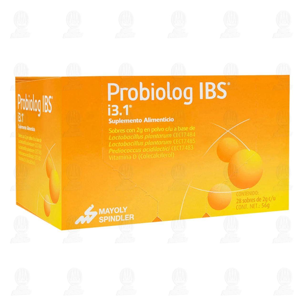 Comprar Probiolog IBS 28 Sobres 2gr c/u Polvo en Farmacias Guadalajara