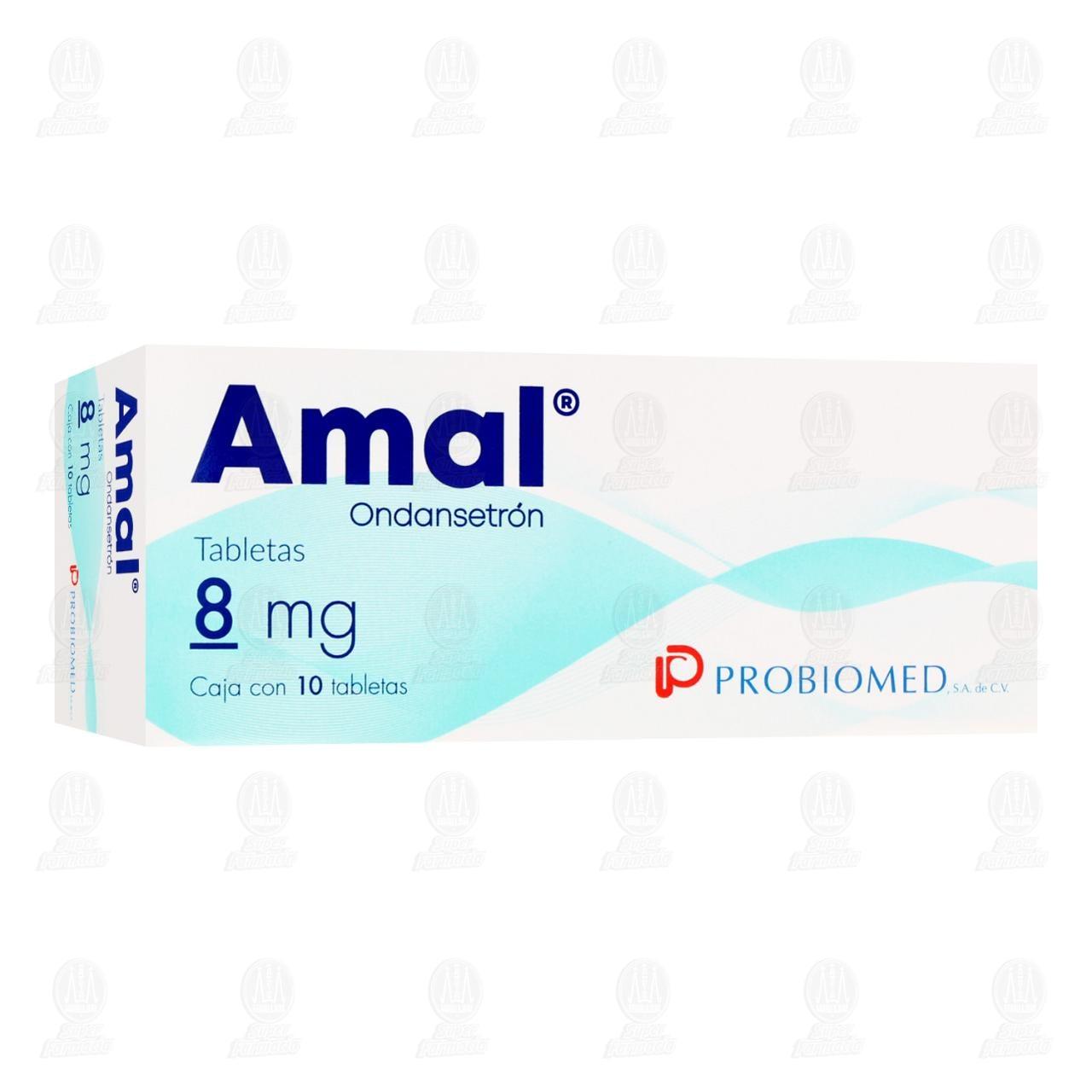 Comprar Amal 8mg 10 Tabletas en Farmacias Guadalajara