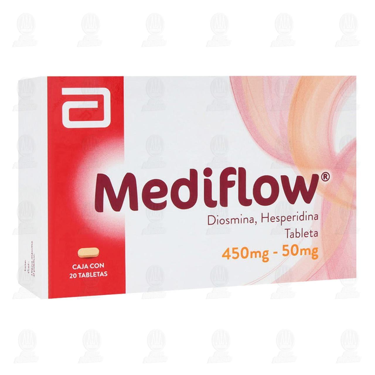 Comprar Mediflow 450mg/50mg 20 Tabletas en Farmacias Guadalajara