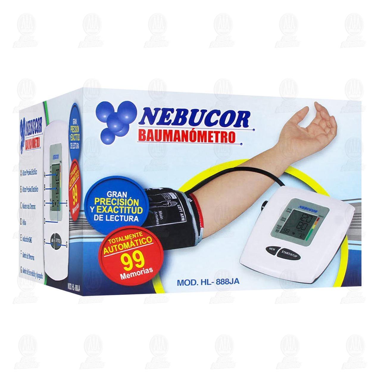 Baumanómetro Nebucor Hl888ja Brazo