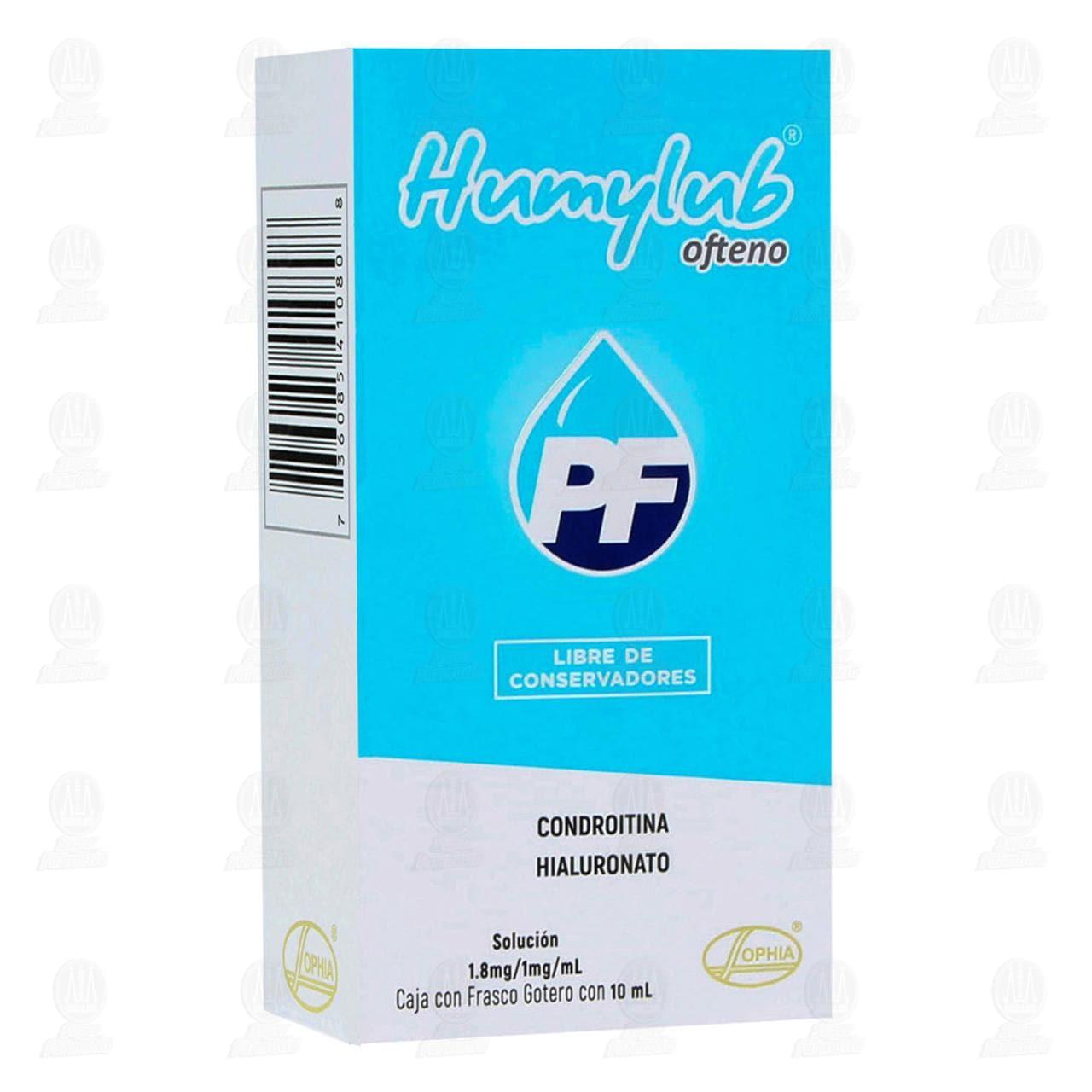Humylub Ofteno PF 10ml Solución Gotas