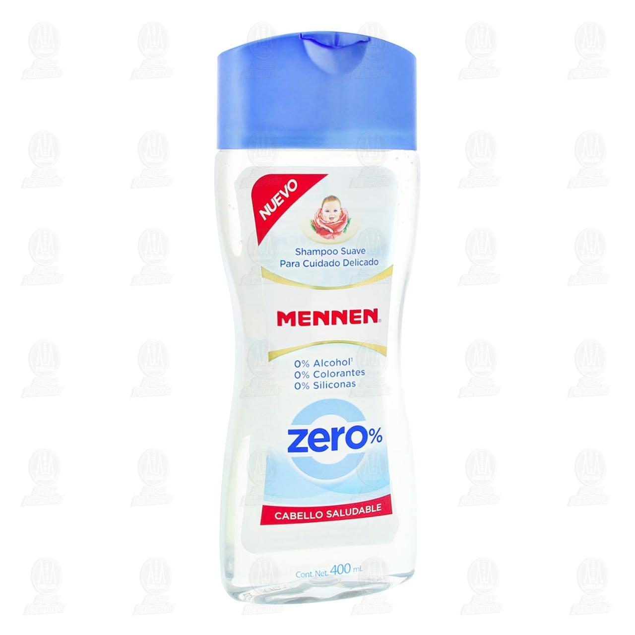 Comprar Shampoo Mennen Zero Cabello Saludable, 400 ml. en Farmacias Guadalajara