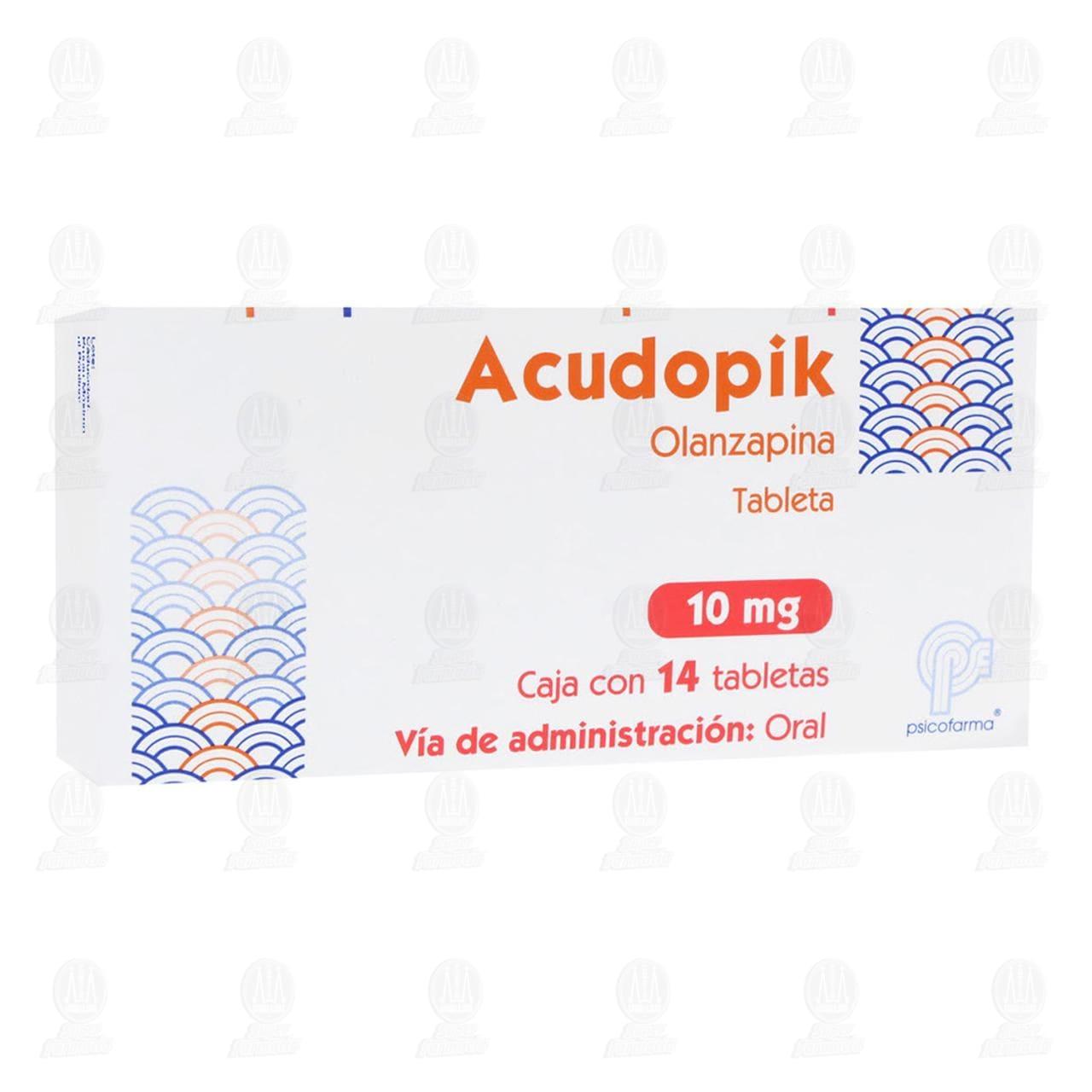 Acudopik 10mg 14 Tabletas