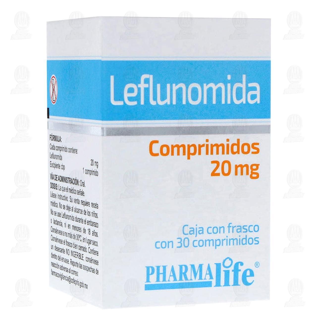 Comprar Leflunomida 20mg 30 Comprimidos Pharmalife en Farmacias Guadalajara