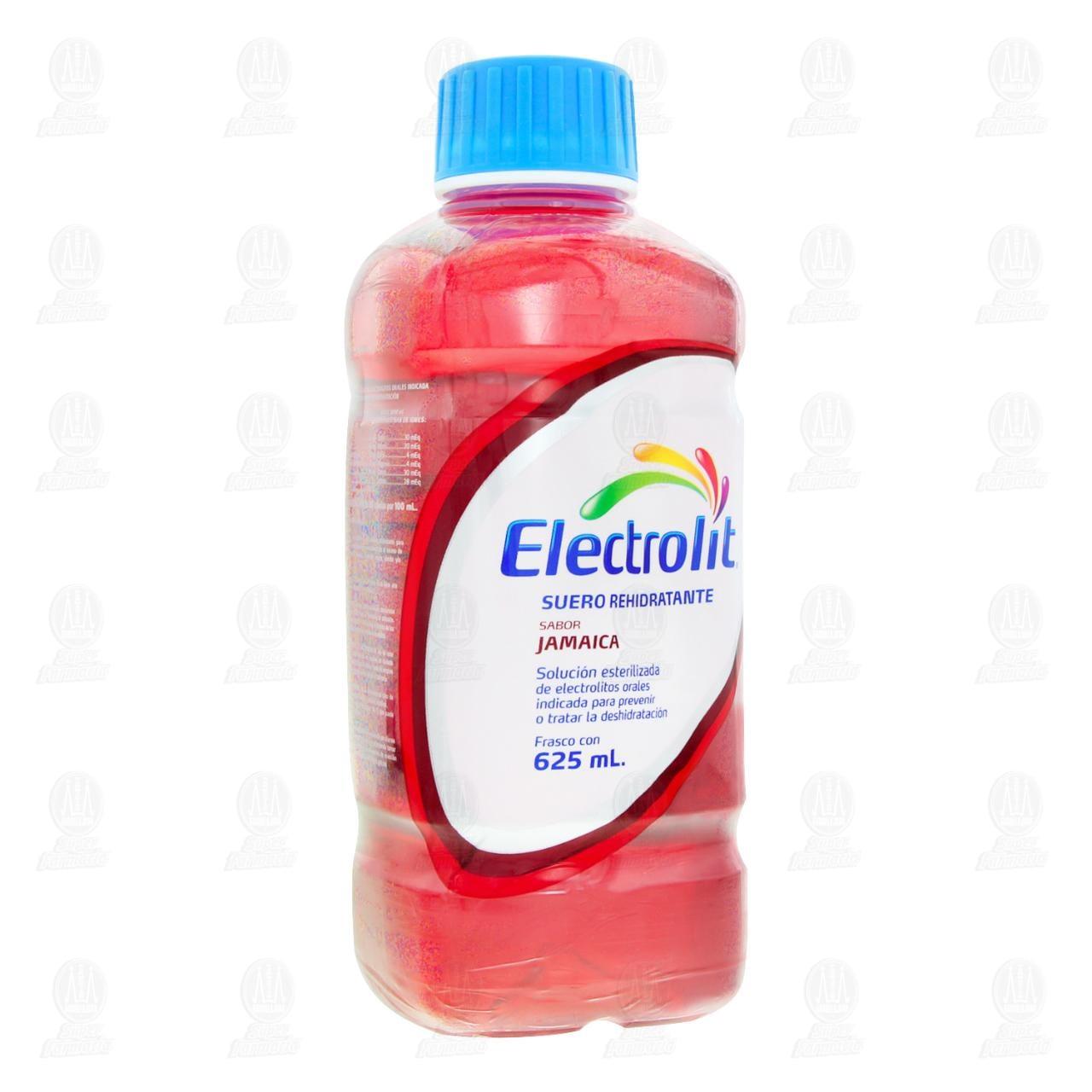 Electrolit Jamaica 625 ml. Adulto Plástico