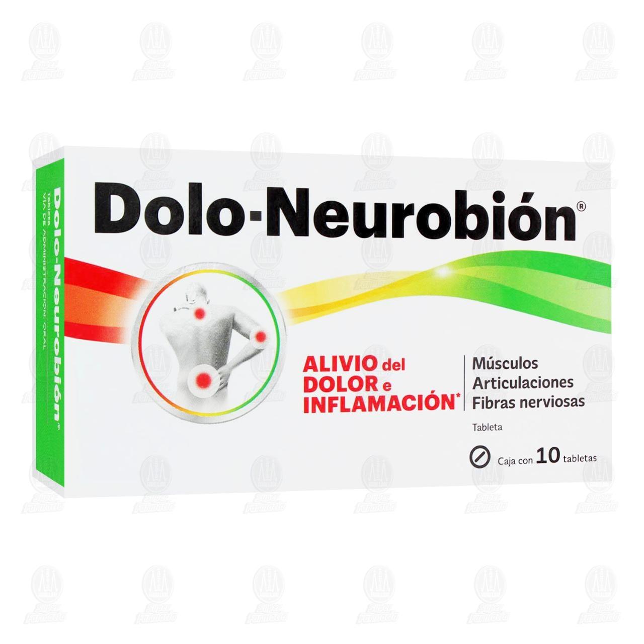 Comprar Dolo-Neurobión 10 Tabletas en Farmacias Guadalajara