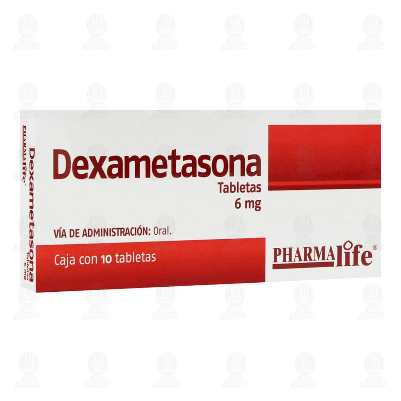 Comprar Dexametasona 6mg 10 Tabletas Pharmalife en Farmacias Guadalajara