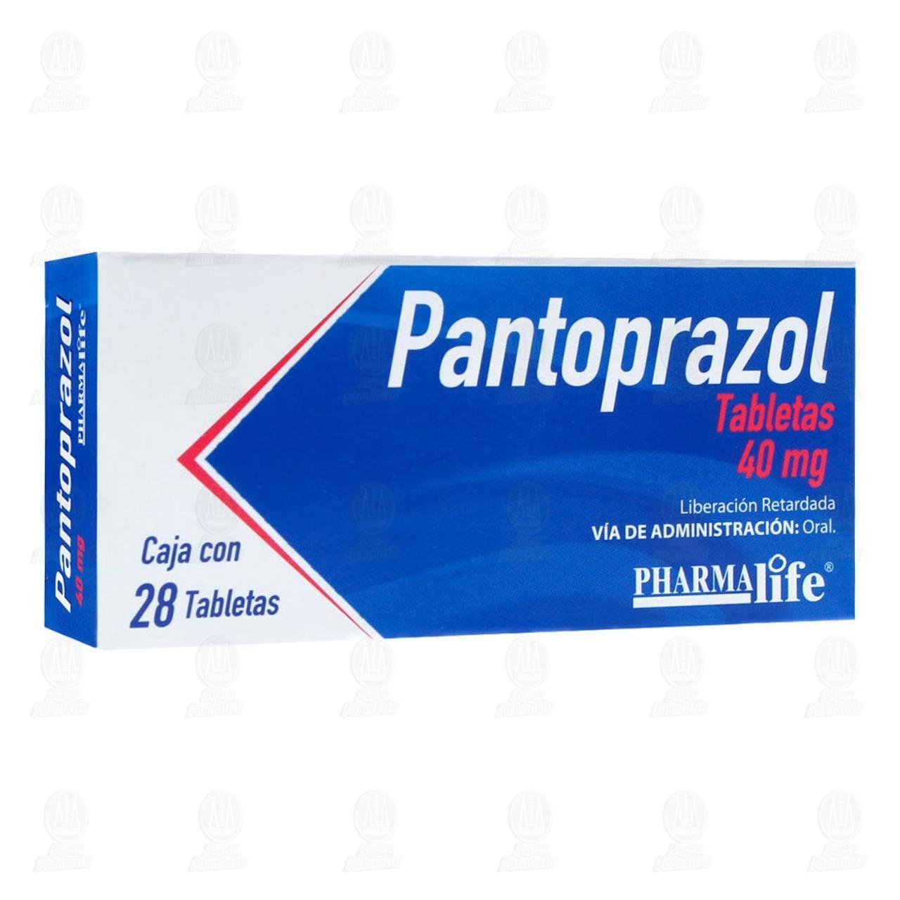 Comprar Pantoprazol 40mg 28 Tabletas Pharmalife en Farmacias Guadalajara
