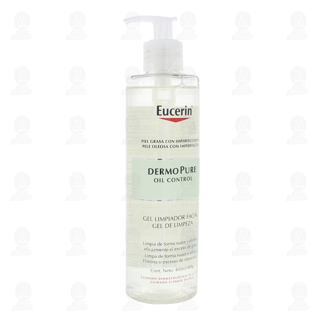 Comprar Eucerin DermoPure Gel Facial Limpiador Anti Imperfecciones, 400ml. en Farmacias Guadalajara
