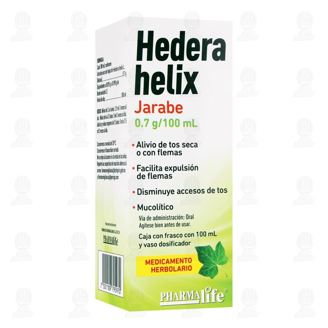 Comprar Hedera Helix Jarabe 0.7gr/100ml Pharmalife en Farmacias Guadalajara