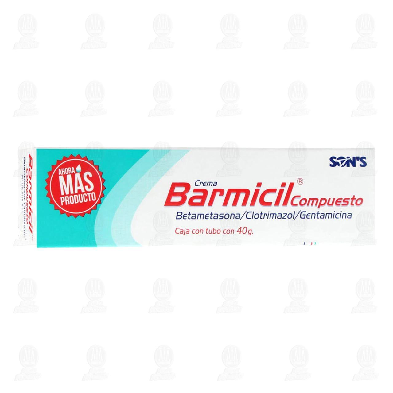 Comprar Barmicil Compuesto 40gr Crema en Farmacias Guadalajara