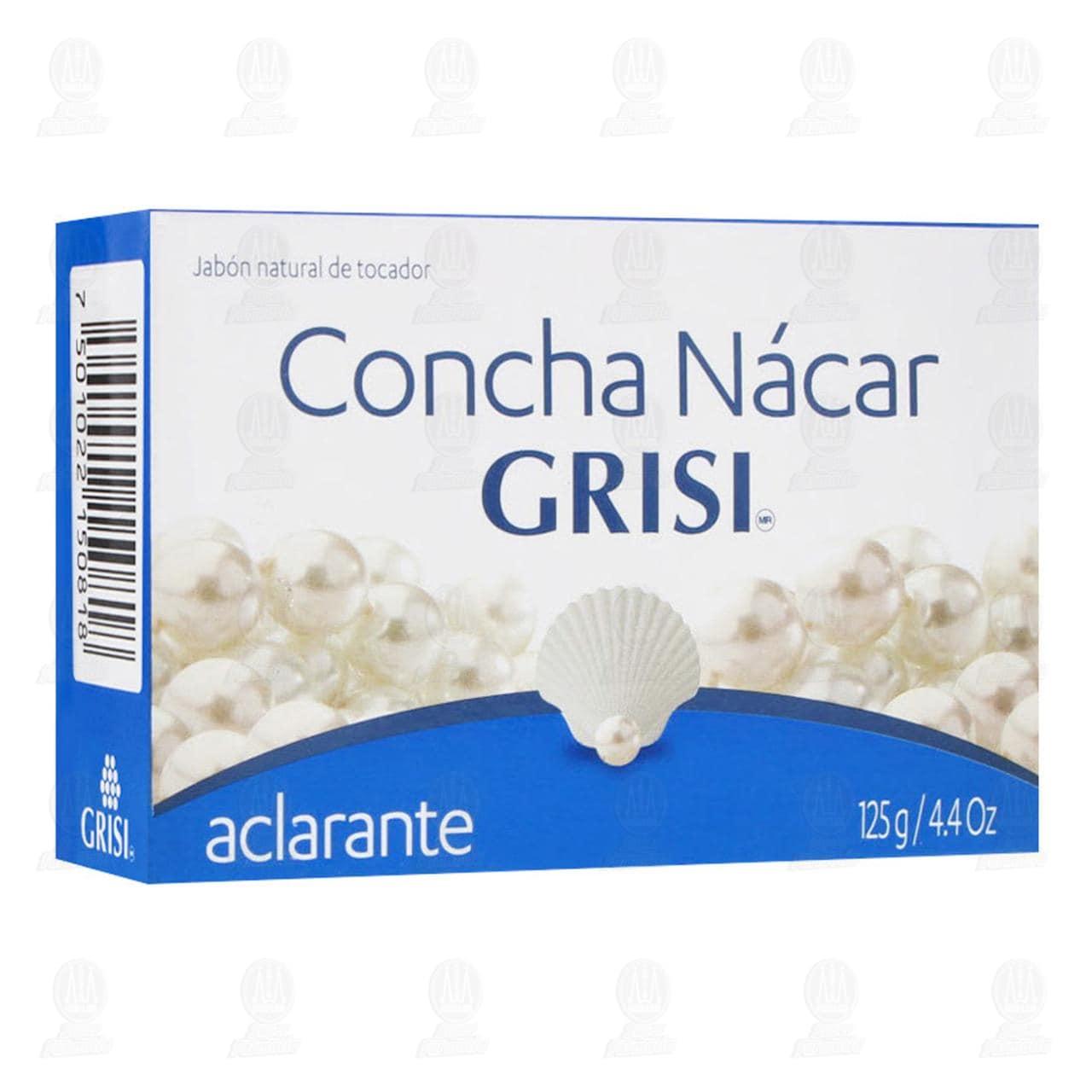 Comprar Jabón Concha Nácar Grisi, 125 gr. en Farmacias Guadalajara