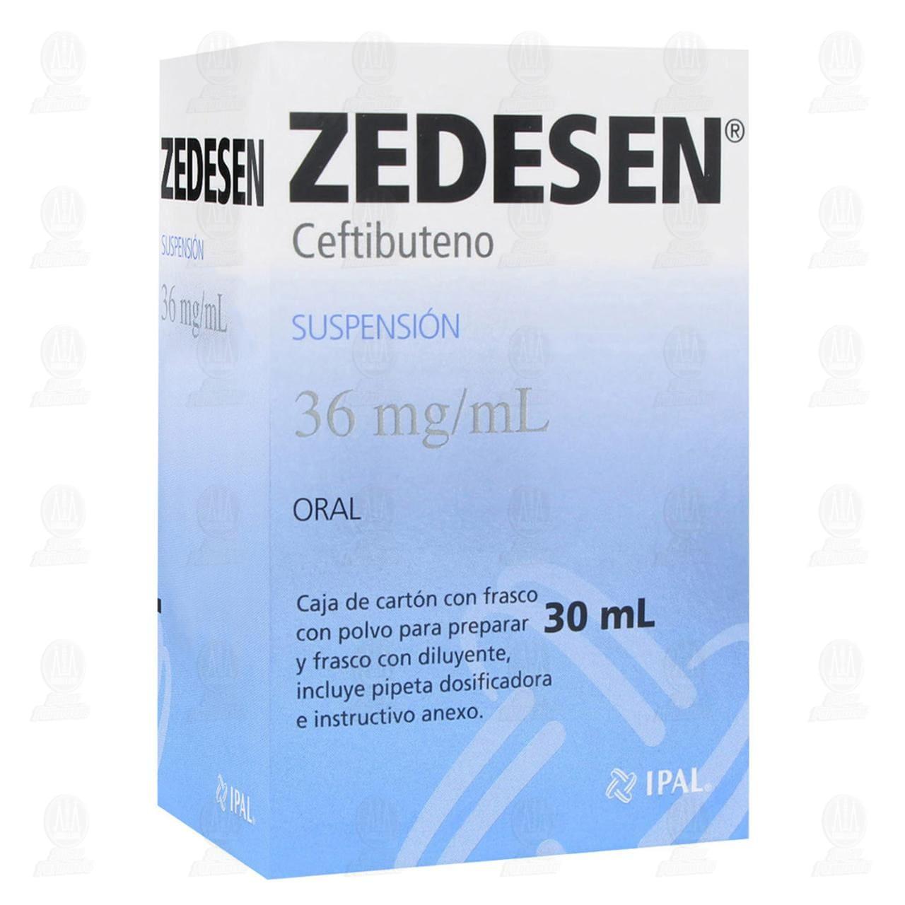 Comprar Zedesen Suspensión 36mg 30ml en Farmacias Guadalajara