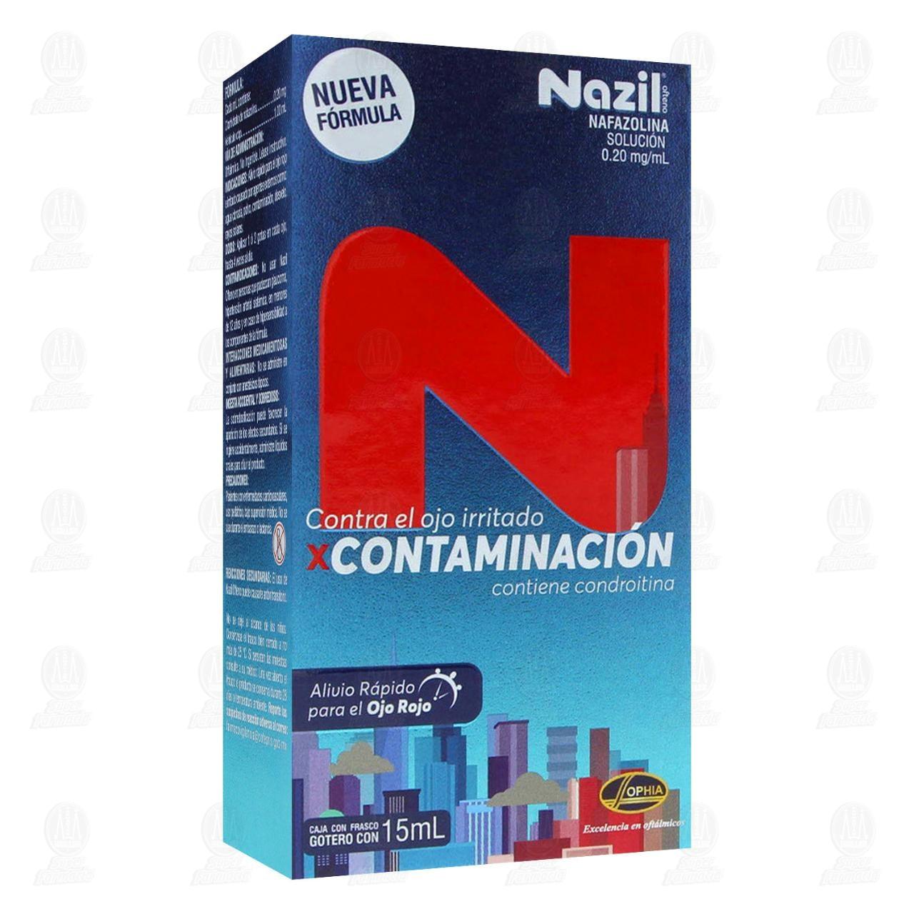 Comprar Nazil Contaminación 0.20mg/ml 15ml Solución Gotas en Farmacias Guadalajara