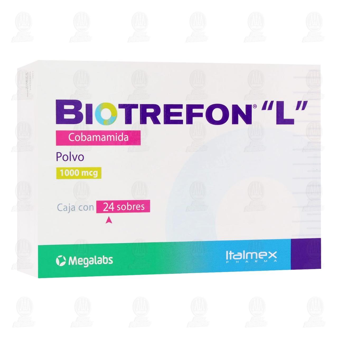 Comprar Biotrefón 'L' 1000mcg 24 Sobres en Farmacias Guadalajara
