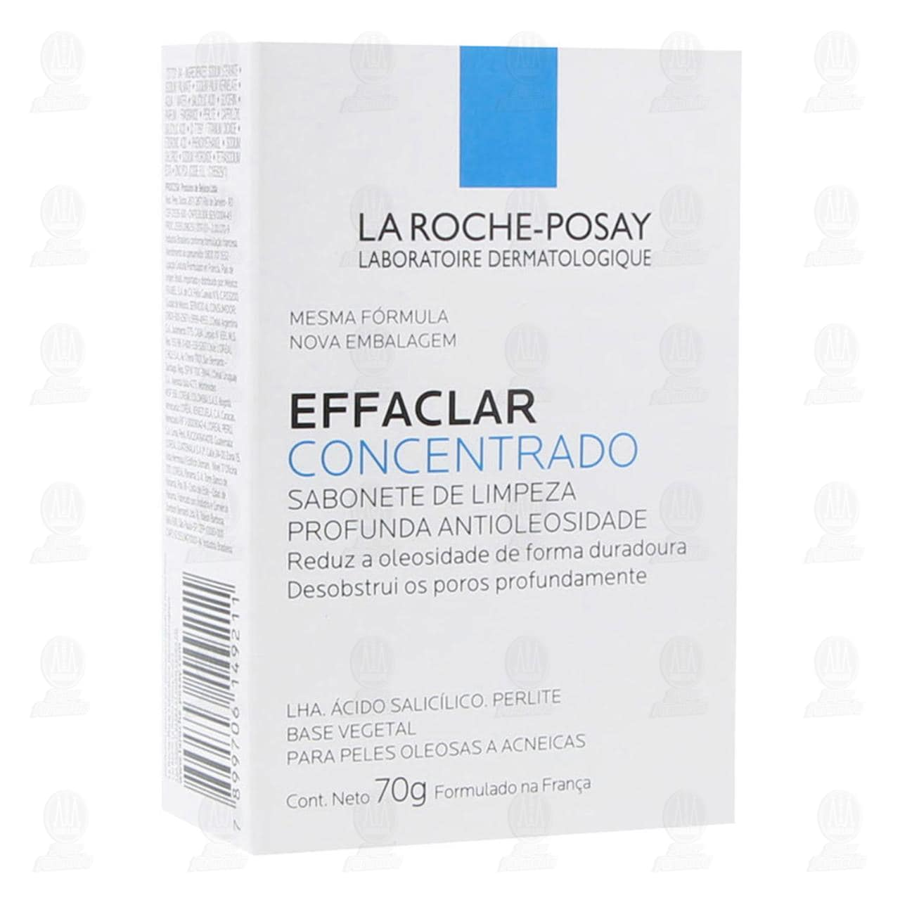 Comprar La Roche Posay Effaclar Concentrado Barra de Limpieza Profunda Antibrillo, 70 gr. en Farmacias Guadalajara