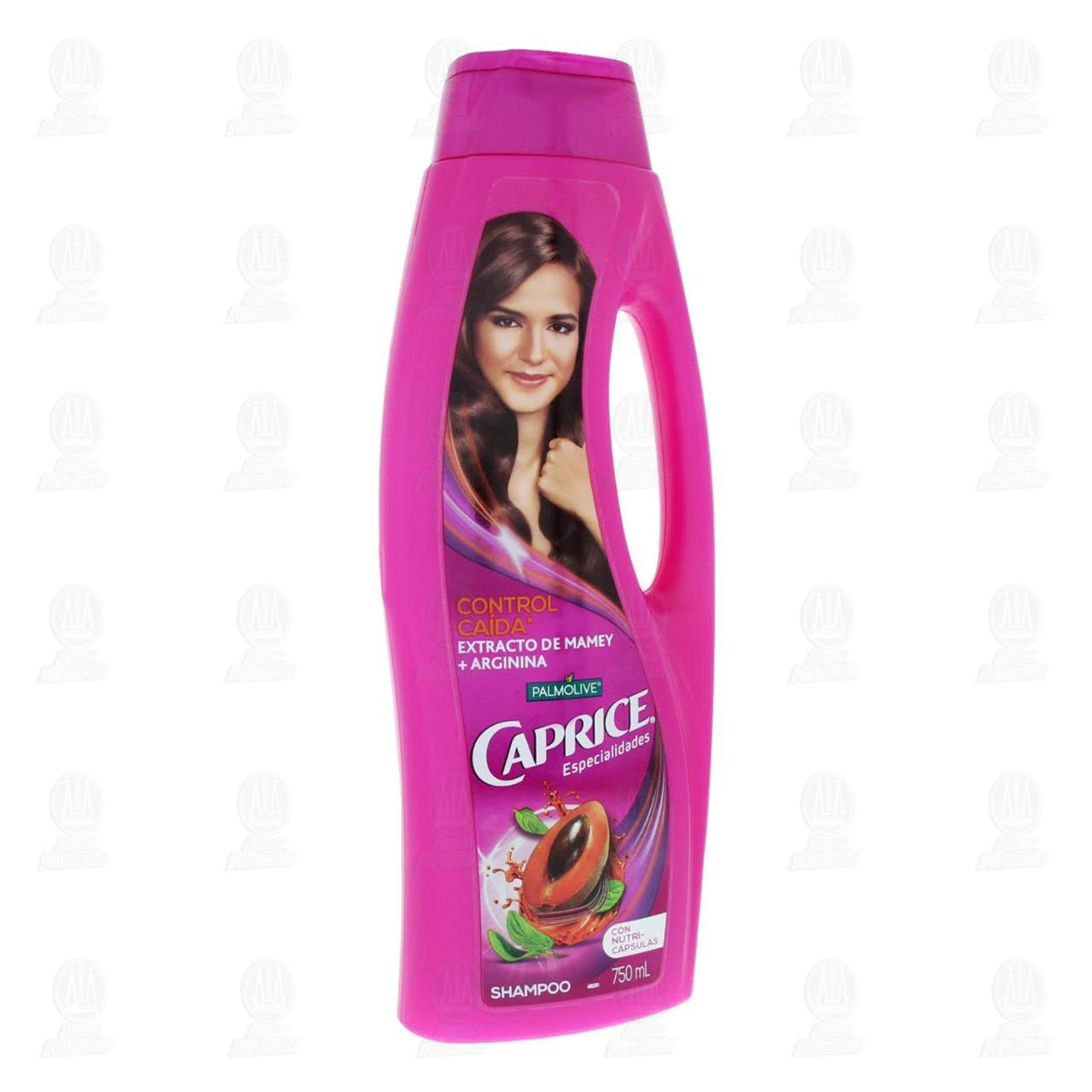 Comprar Shampoo Caprice Especialidades Control Caída Mamey + Arginina, 750 ml. en Farmacias Guadalajara