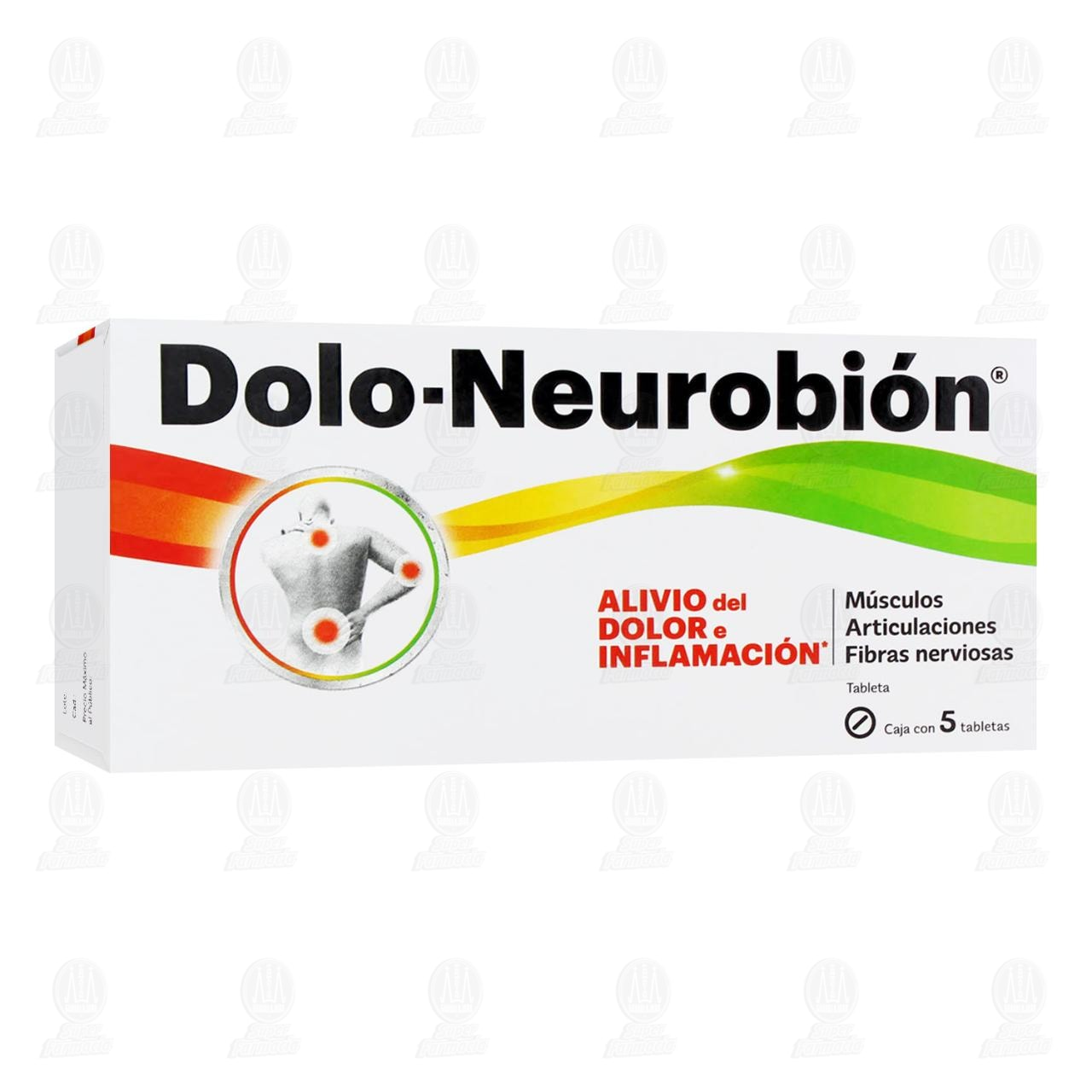 Comprar Dolo-Neurobión 5 Tabletas en Farmacias Guadalajara