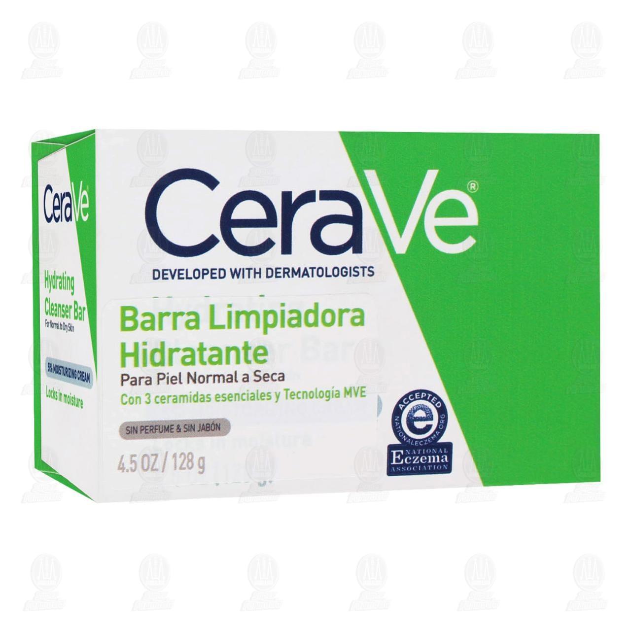 Comprar CeraVe Barra Limpiadora Hidratante, 128 gr. en Farmacias Guadalajara