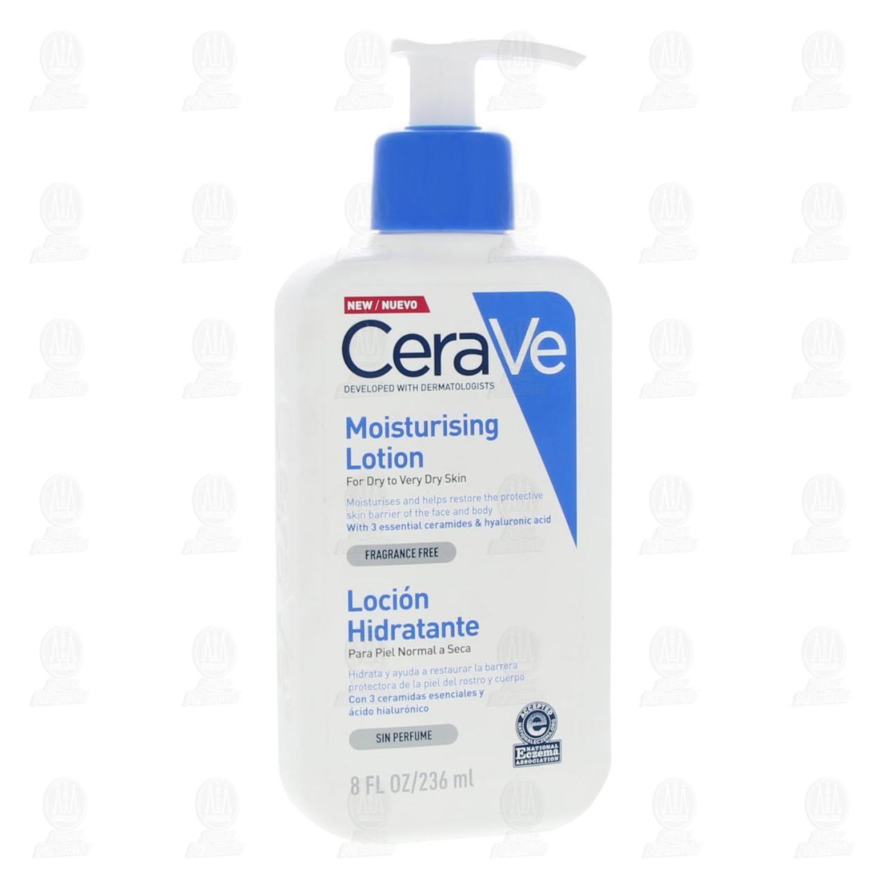 Comprar CeraVe Loción Hidratante, 236 ml. en Farmacias Guadalajara