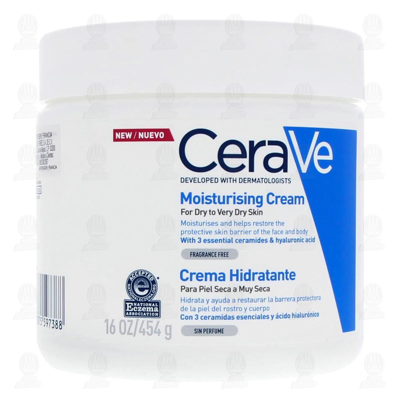 Comprar CeraVe Crema Hidratante, 454 gr. en Farmacias Guadalajara