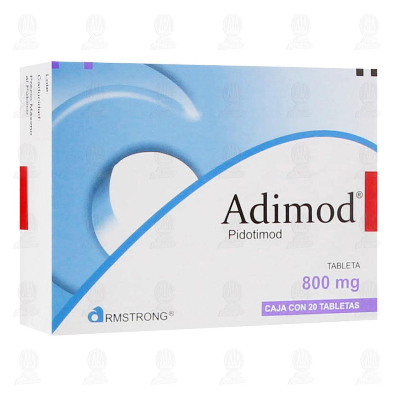 Comprar Adimod 800mg 20 Tabletas en Farmacias Guadalajara