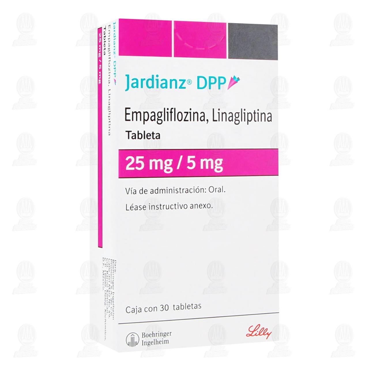 Comprar Jardianz DPP 25/5mg 30 Tabletas en Farmacias Guadalajara