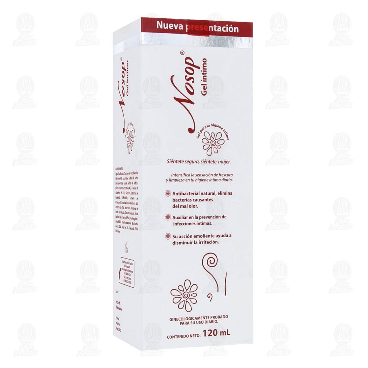 Comprar Nosop Gel Íntimo 120ml en Farmacias Guadalajara