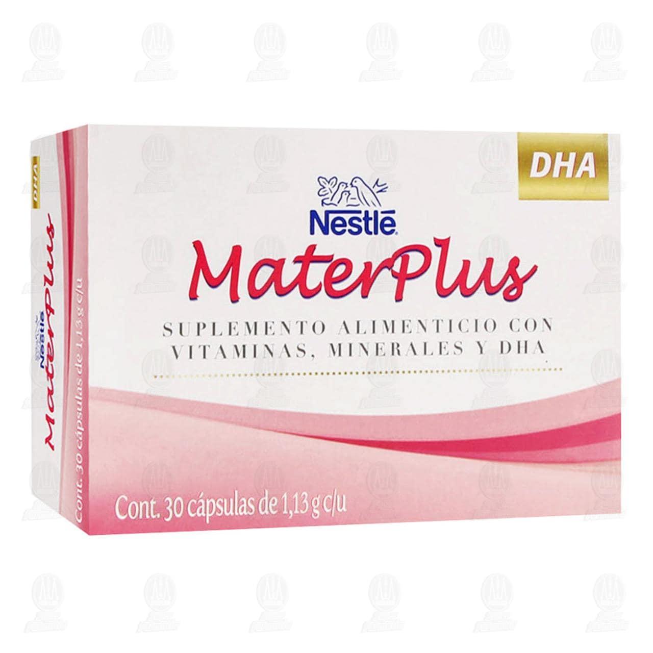 Comprar Mater Plus 30 Cápsulas en Farmacias Guadalajara
