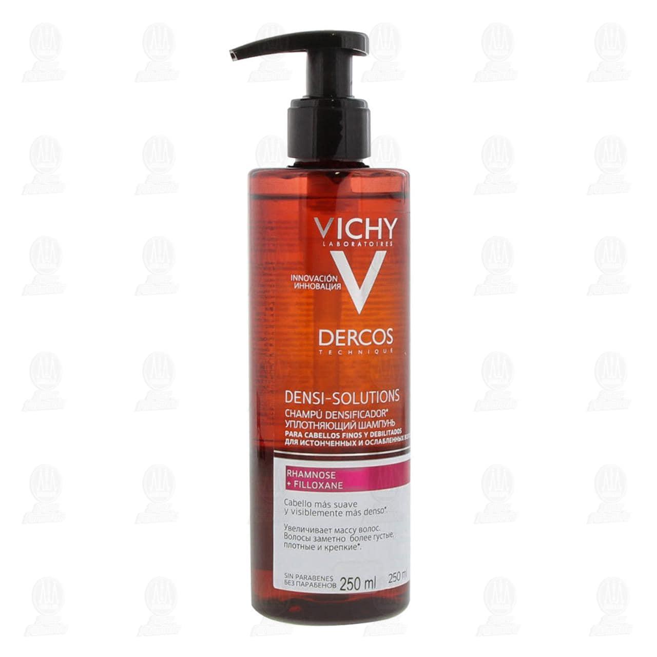 Comprar Vichy Dercos Densi Solutions Shampoo Densificador, 250 ml. en Farmacias Guadalajara