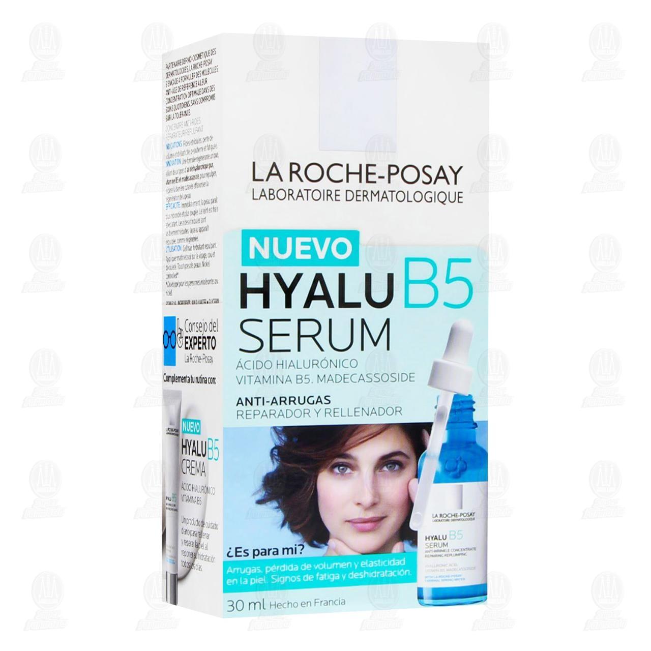 Comprar La Roche Posay Hyalu B5 Serum Antiarrugas Reparador y Rellenador, 30 ml. en Farmacias Guadalajara