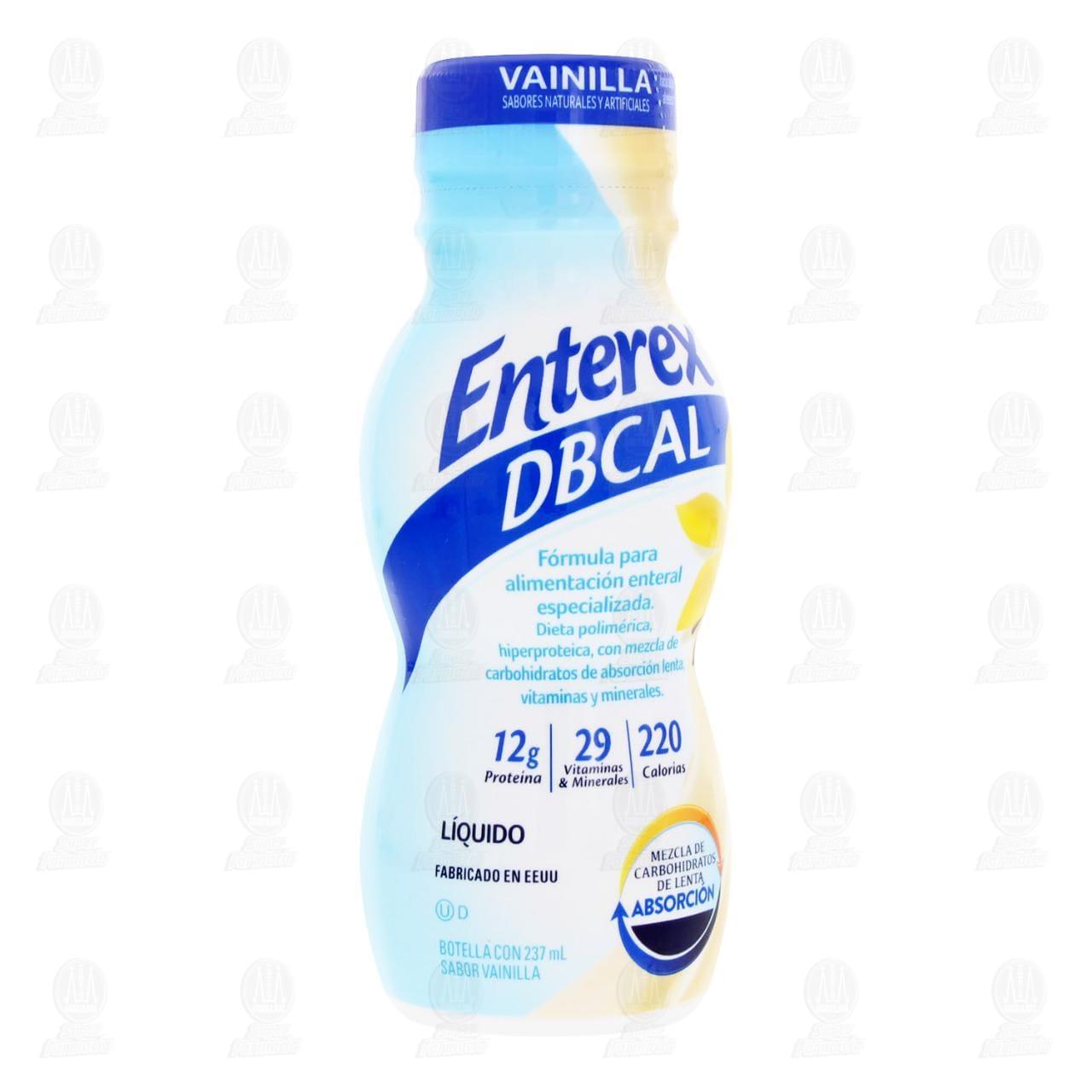 Comprar Enterex DBT Sabor Vainilla 237ml en Farmacias Guadalajara