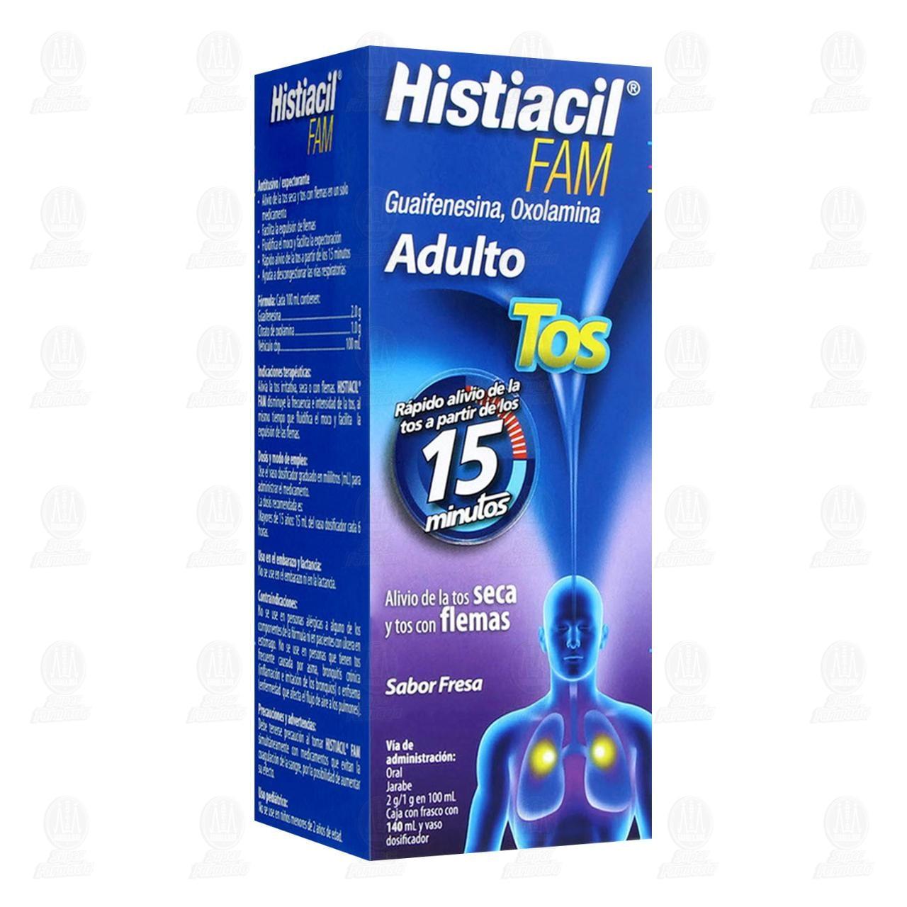 Histiacil FAM 140ml Jarabe Adulto