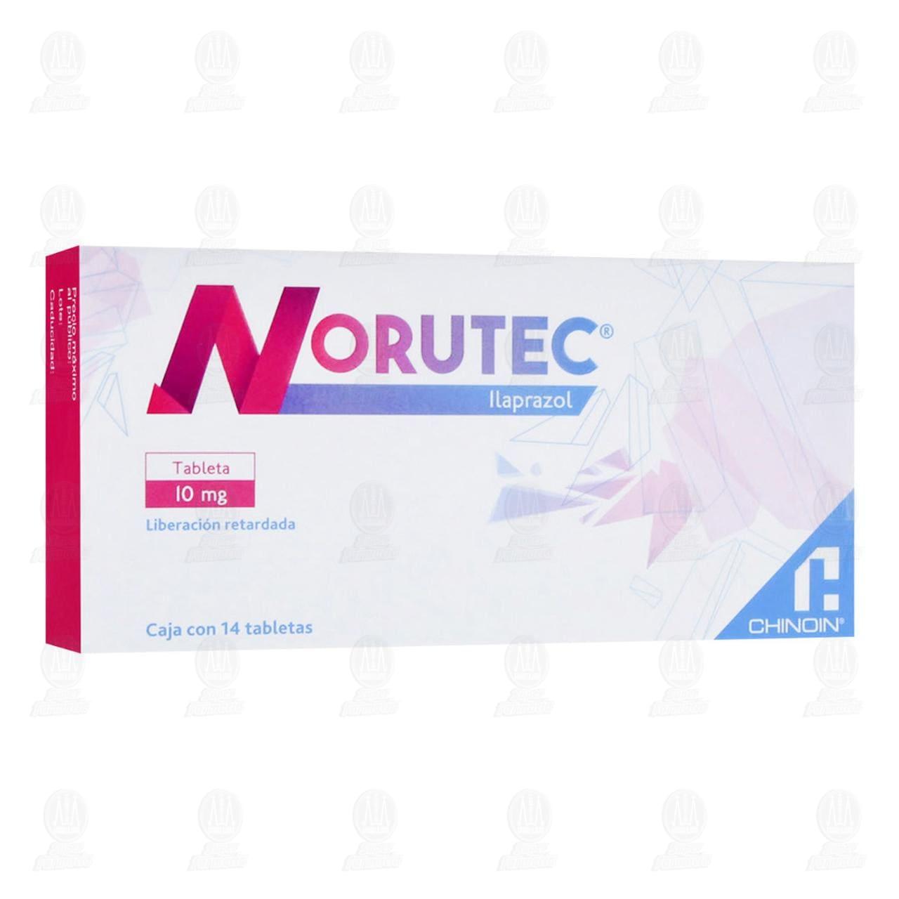 Comprar Norutec 10mg 14 Tabletas en Farmacias Guadalajara
