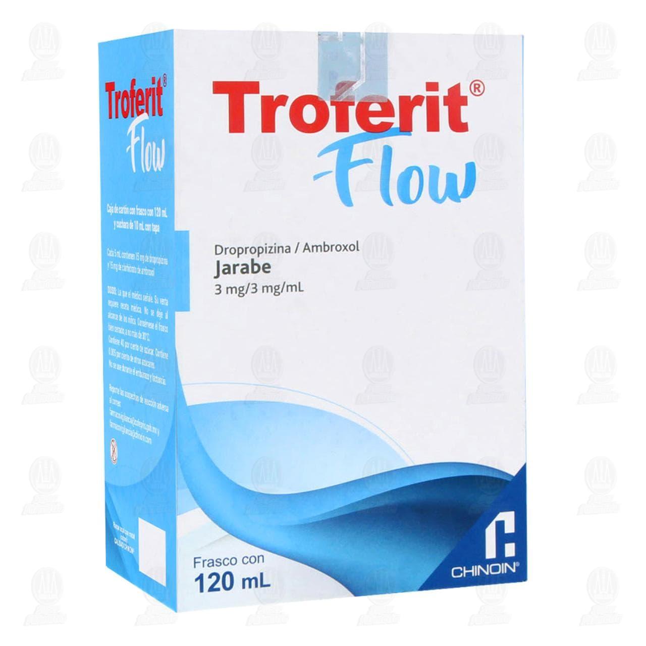Comprar Troferit Flow Jarabe 3mg/3mg/ml 120ml en Farmacias Guadalajara