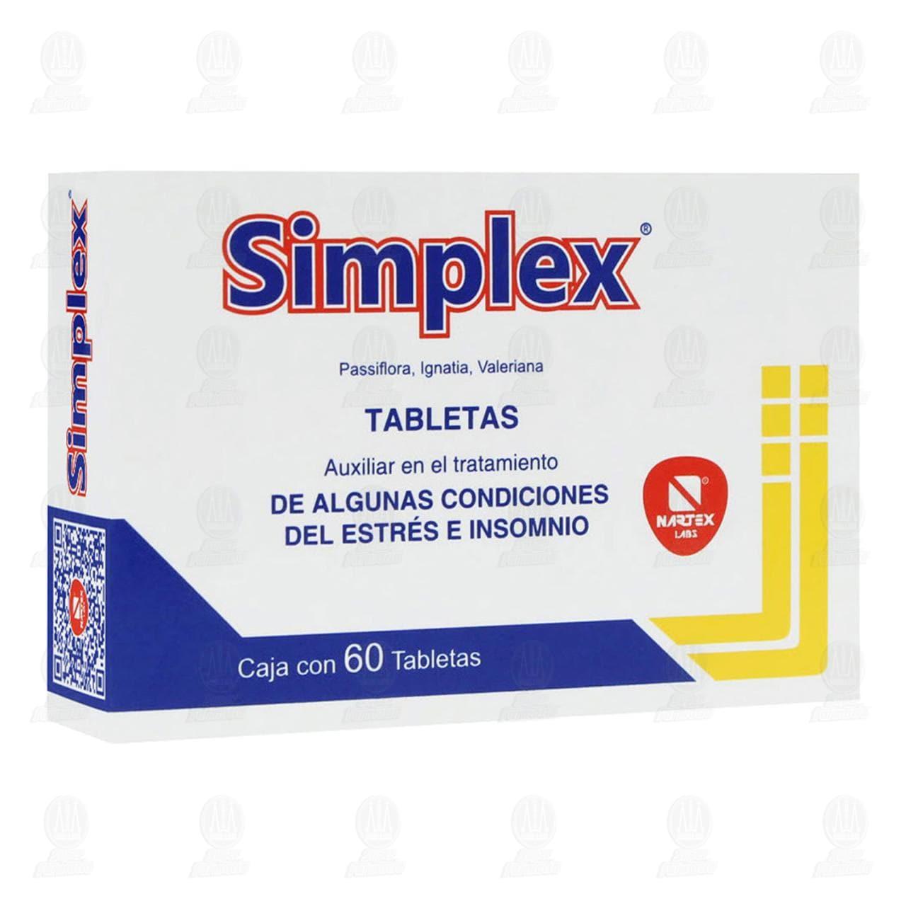 Comprar Simplex 60 Tabletas en Farmacias Guadalajara