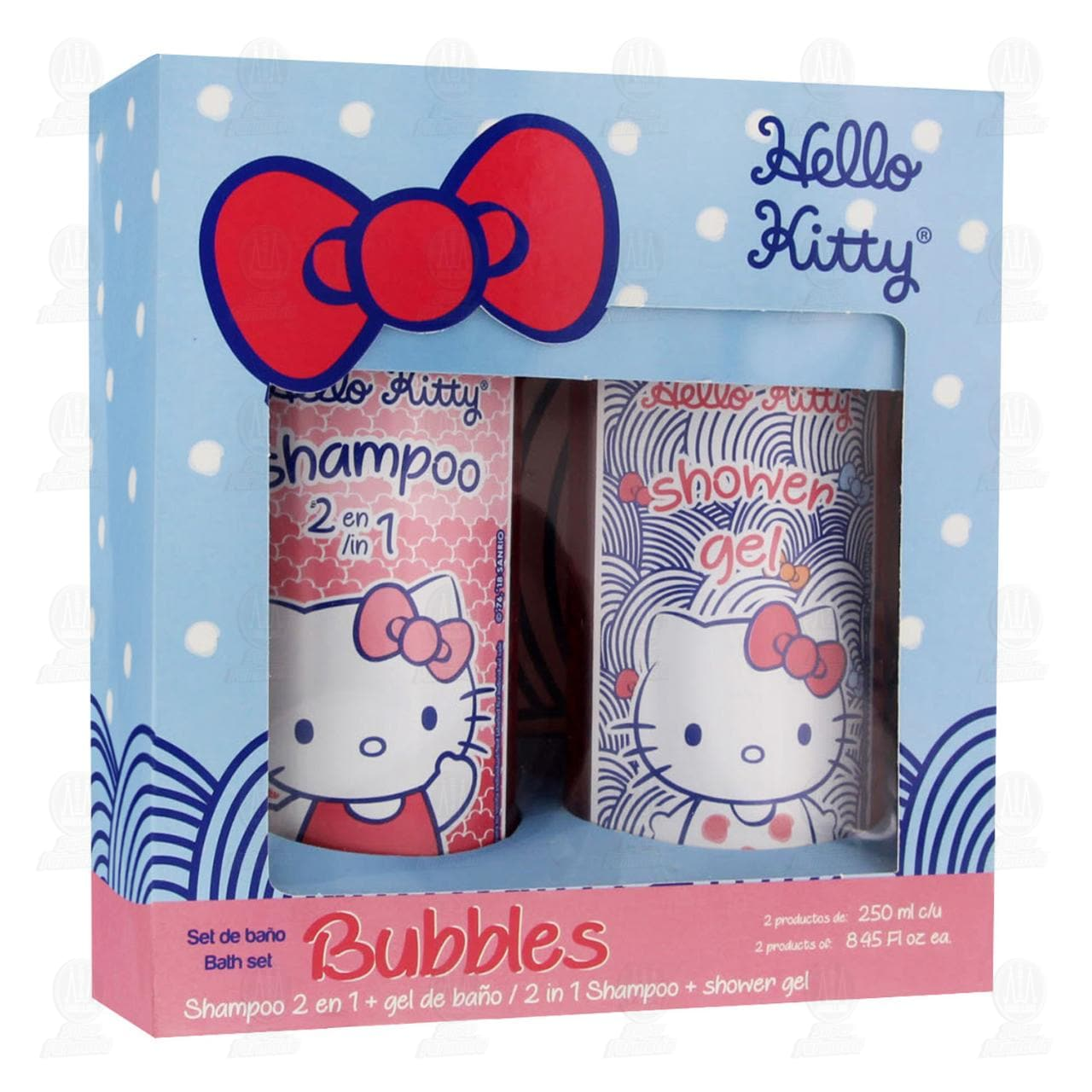 Set de baño Hello Kitty Bubbles, 2 pzas.